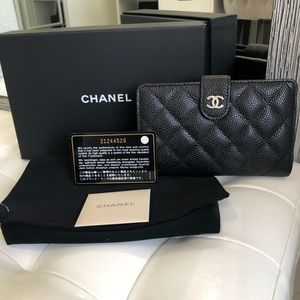 Chanel French wallet